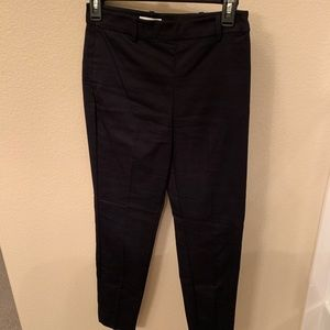 H&M High Rise black cropped pants